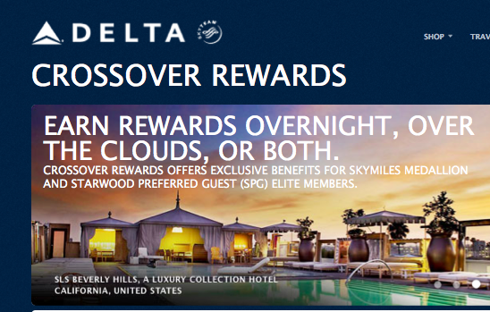 I think we'll see some more airline-hotel link ups like Delta/SPG Crossover Rewards.