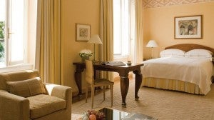 A Deluxe Room at the Renaissance
