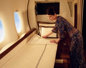 Want to try Singapore's First Class Suite? You'll need KrisFlyer miles to do it.