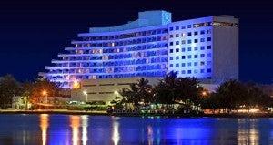 Exterior of the Hilton Cartagena Hotel.