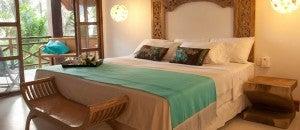King guest room at the Hotel Spa Karmairi.