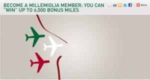 Millemiglia sign up