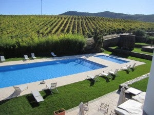 You might never want to leave the pool at Quinta do Portal.