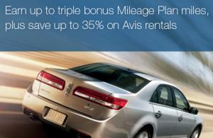 Rack up some bonus Alaska Airlines miles with Avis.