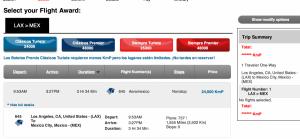 Consider transferring your American Express Membership Rewards to Aeroplan.