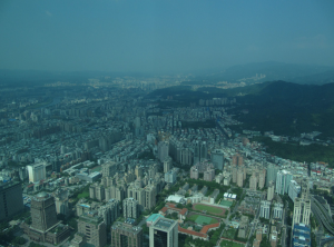 Overview of Taipei.