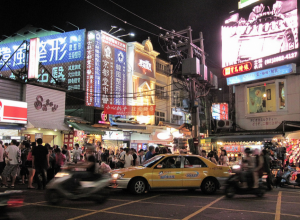 The Shilin Night Market.
