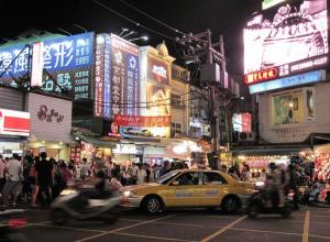 The Shilin Night Market.