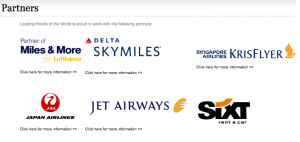 Earn bonus miles with LHW's partners when you stay.