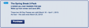 Save on WiFi with American's Spring Break 2 Pack.