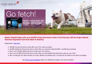 Virgin Atlantic Amex 65k