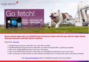 Virgin Atlantic Amex 65k