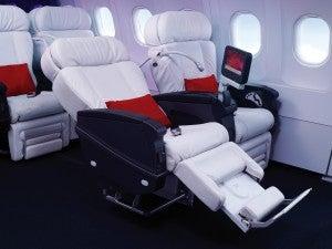 Virgin America's First Class seats.