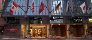 The Crowne Plaza Seattle is a newly-renovated 34-floor tower hotel.