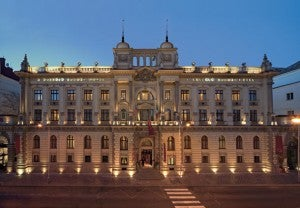 The Hotel Boscolo, is part of Marriott's Autograph Collection.