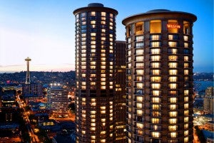 The Westin Seattle is located in the heart of downtown.