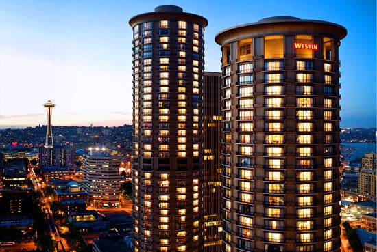The Westin Seattle Is Located In Heart Of Downtown