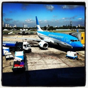Aerolineas Argentinas flights can be expensive!