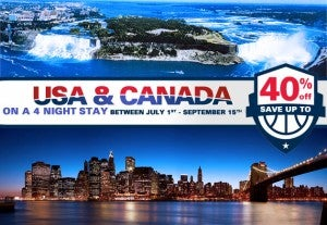 Up to 40% off hotels in the US & Canada with Accor Hotels.