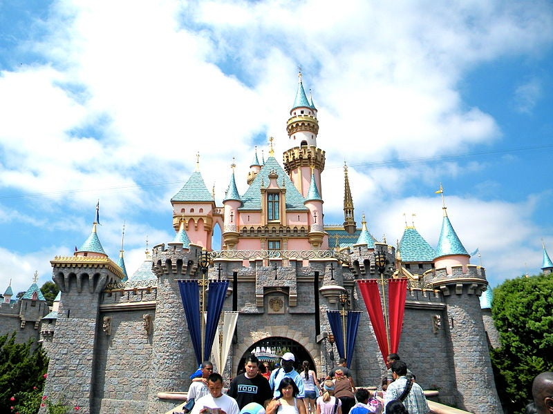 The famous Disneyland Castle.