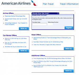 Register for the promo on the AA offers page with code HVLP1.