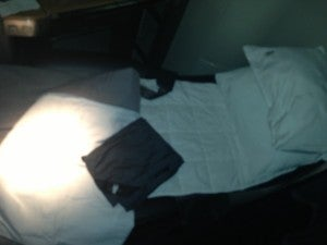 Turndown service- mattress pad, comforter and blanket