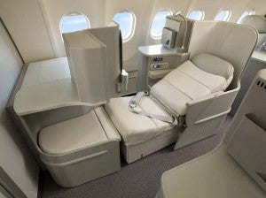 I want to try out Alitalia's new Magnifica business class.