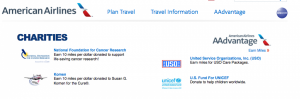 Many major airlines like American allow you to donate your miles to charity.