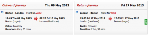 BOS LHR Upgradable Virgin