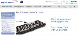 British Airways on Business