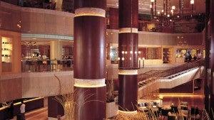 Lobby area at the The Conrad Bangkok.