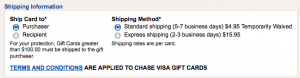 The $4.95 shipping fee is being waived temporarily.
