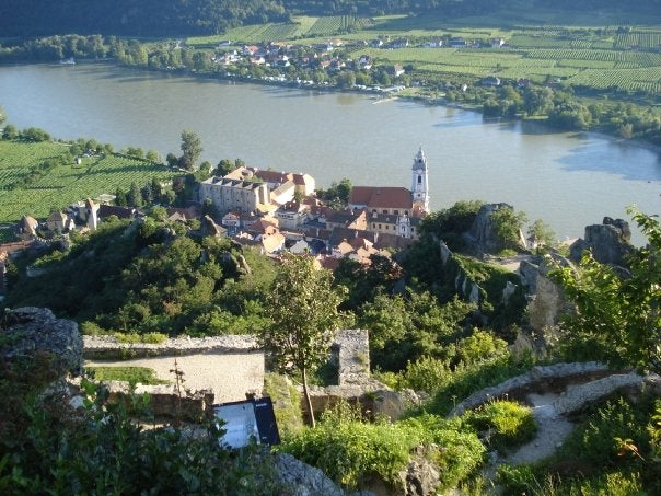 Wine Wednesday: Austria\'s Danube Valley | The Points Guydanube town