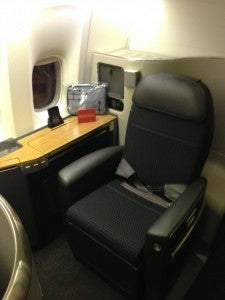 FirstClassSeat