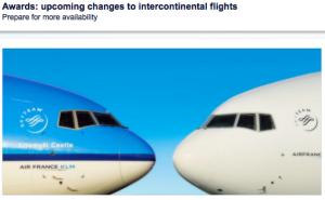 Flying Blue devaluation