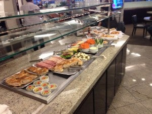 GRU Lounge Food