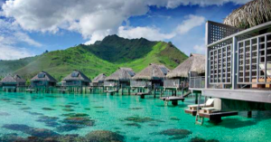At the Hilton in Moorea, an AXON award will offer better value than booking a standard four-night stay, regardless of when you are staying.