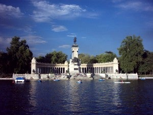 One of my favorite places in Madrid, Retiro Park.