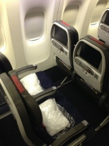 Main Cabin Seat from above
