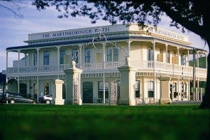 Stop at the Martinborough Hotel to get your bearings.