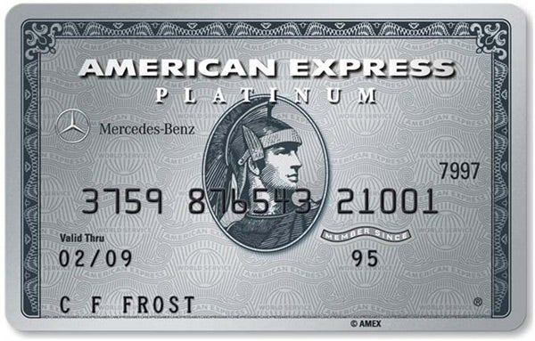 Mercedes-Benz American Express Platinum Card - Includes Auto-Entry into the Membership Rewards Program