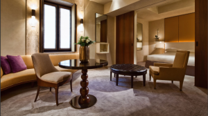 Park Executive Suite at the Park Hyatt Milan.