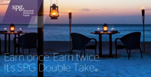 Registration is now open for SPG's summer promotion: Double Take.