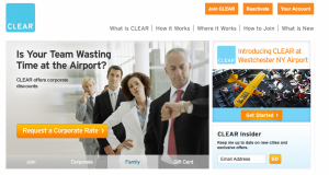 Save time at select airports with CLEAR.