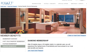 Hyatt Diamonds can now choose 1,000 points as a welcome amenity overseas.