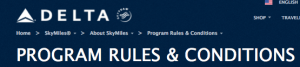 Delta miles are among the only ones that don't expire.