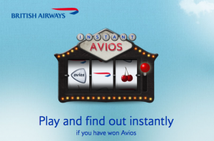 BA Instant Avios