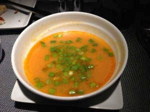 Sweet Potato and Red Curry Soup