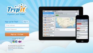 TripIt is a great resource for keeping track of your points and miles.