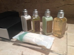 The bathroom amenities were from..?